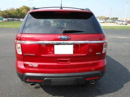 2013 FORD EXPLORER LIMITED - RED ON BLACK 2