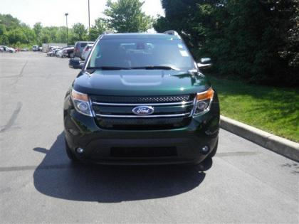 2013 FORD EXPLORER LIMITED - GREEN ON BLACK 2