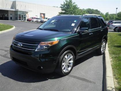 export   ford explorer limited green  black