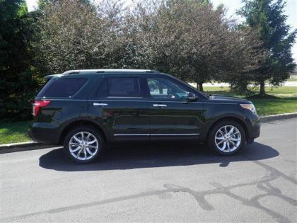 2013 FORD EXPLORER LIMITED - GREEN ON BLACK 4