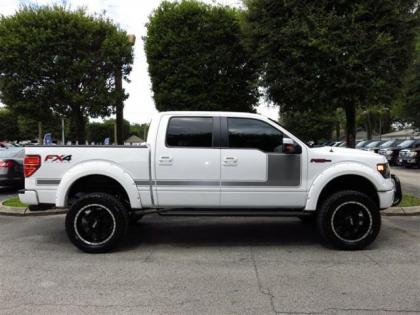 2013 FORD F150 FX4 - WHITE ON BLACK 1