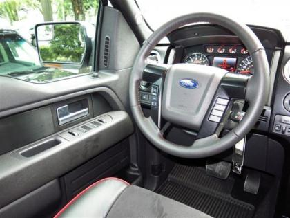 2013 FORD F150 FX4 - WHITE ON BLACK 4