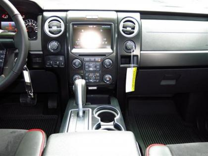 2013 FORD F150 FX4 - WHITE ON BLACK 5