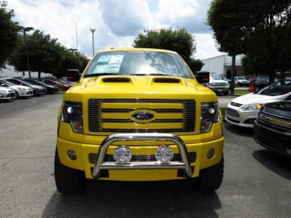 2013 FORD F150 TONKA - YELLOW ON BLACK