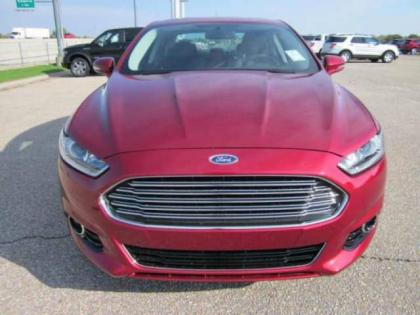 2013 FORD FUSION TITANIUM - RED ON BLACK 3