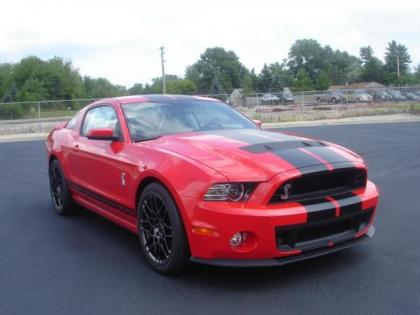 2013 FORD MUSTANG SHELBY GT500 - RED ON BLACK