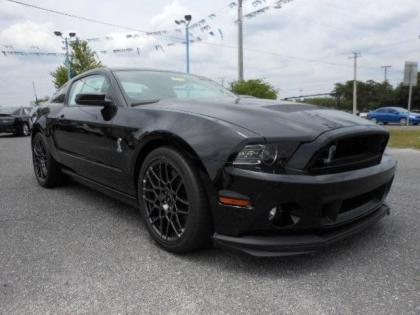 2014 FORD MUSTANG SHELBY GT500 - BLACK ON BLACK 1