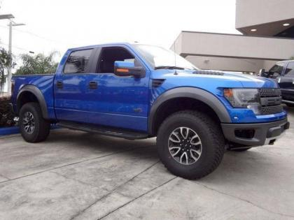 2013 FORD F150 RAPTOR SVT - BLUE ON BLACK