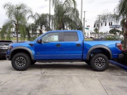 2013 FORD F150 RAPTOR SVT - BLUE ON BLACK 3