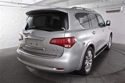 2013 INFINITI QX56 AWD - SILVER ON BLACK 2