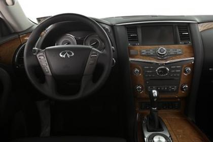 2013 INFINITI QX56 AWD - SILVER ON BLACK 7