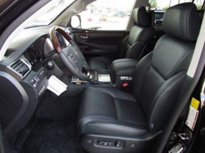 2013 LEXUS LX570 BASE - BLACK ON BLACK 6