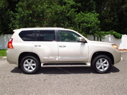 2013 LEXUS GX460 BASE - BRONZE ON BEIGE 2