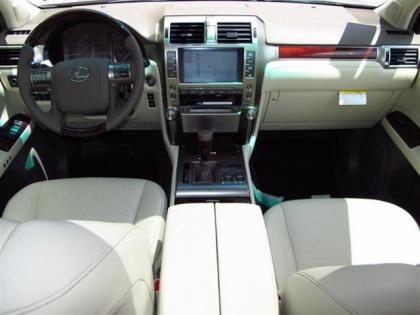 2013 LEXUS GX460 BASE - BRONZE ON BEIGE 3