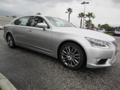2013 LEXUS LS460 L - SILVER ON BLACK