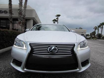 2013 LEXUS LS460 L - SILVER ON BLACK 2