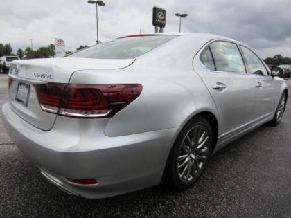 2013 LEXUS LS460 L - SILVER ON BLACK 3