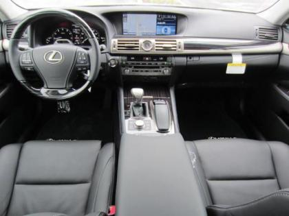 2013 LEXUS LS460 L - SILVER ON BLACK 5