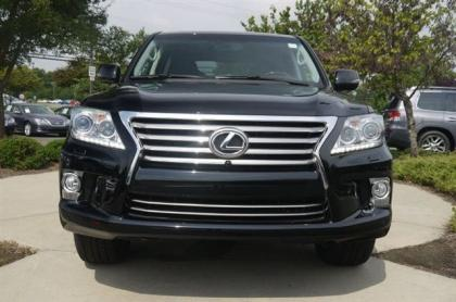 2013 LEXUS LX570 BASE - BLACK ON BLACK 2