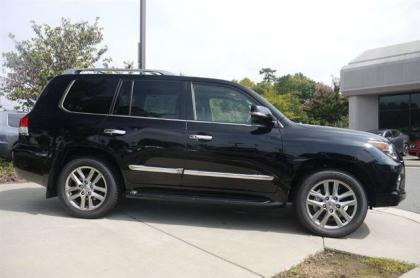 2013 LEXUS LX570 BASE - BLACK ON BLACK 3
