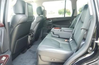 2013 LEXUS LX570 BASE - BLACK ON BLACK 7