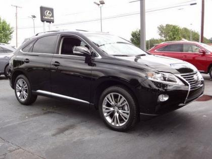 2013 LEXUS RX350 BASE - BLACK ON BLACK