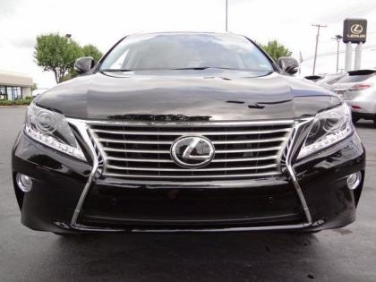 2013 LEXUS RX350 BASE - BLACK ON BLACK 2