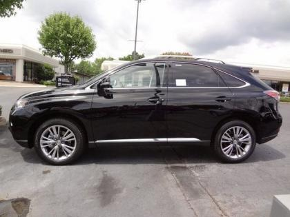 2013 LEXUS RX350 BASE - BLACK ON BLACK 4