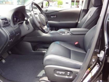 2013 LEXUS RX350 BASE - BLACK ON BLACK 5