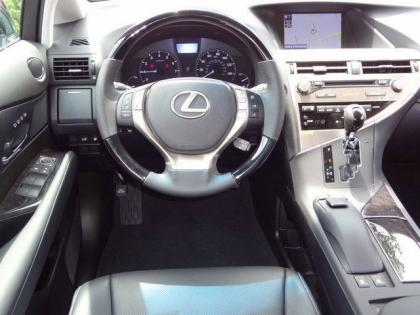 2013 LEXUS RX350 BASE - BLACK ON BLACK 6