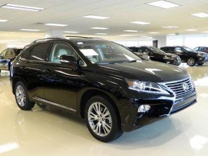 2013 LEXUS RX350 BASE - BLACK ON GRAY