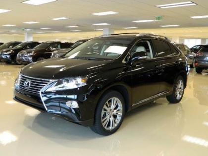 2013 LEXUS RX350 BASE - BLACK ON GRAY 2
