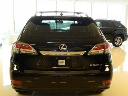 2013 LEXUS RX350 BASE - BLACK ON GRAY 3