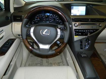 2013 LEXUS RX350 BASE - BLACK ON GRAY 4