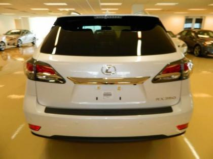 2013 LEXUS RX350 F SPORT - WHITE ON BLACK 3