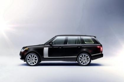 2013 LAND ROVER RANGE ROVER BASE - BLACK ON WHITE 3