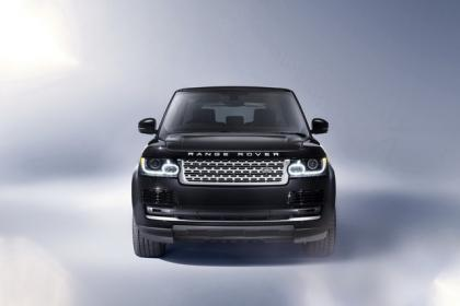 2013 LAND ROVER RANGE ROVER BASE - BLACK ON WHITE 4