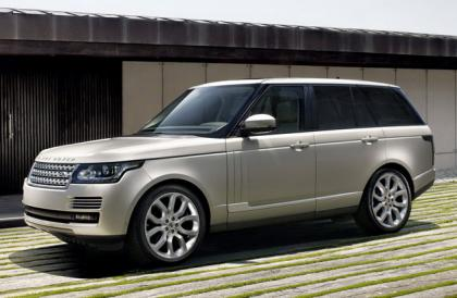 2013 LAND ROVER RANGE ROVER BASE - SILVER ON WHITE 1