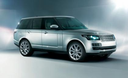 2013 LAND ROVER RANGE ROVER BASE - SILVER ON WHITE 2