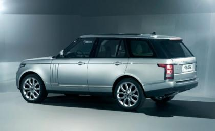 2013 LAND ROVER RANGE ROVER BASE - SILVER ON WHITE 3