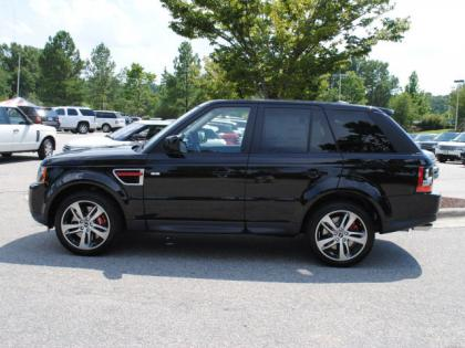 2013 LAND ROVER RANGE ROVER SPORT SUPERCHARGED - BLACK ON BLACK 2