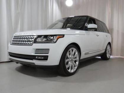 2013 LAND ROVER RANGE ROVER SUPERCHARGED - WHITE ON BEIGE 3