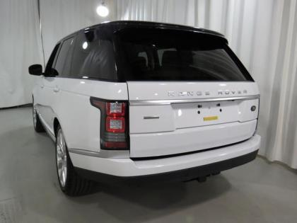 2013 LAND ROVER RANGE ROVER SUPERCHARGED - WHITE ON BEIGE 4
