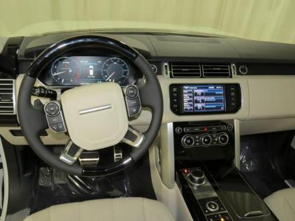 2013 LAND ROVER RANGE ROVER SUPERCHARGED - WHITE ON BEIGE 6