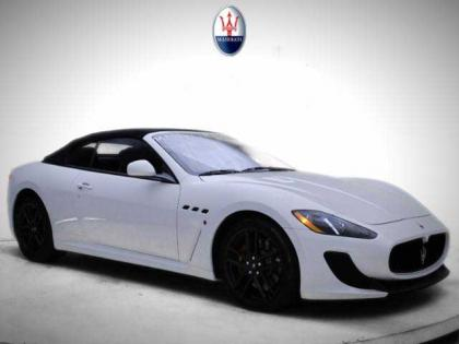 2013 MASERATI GRAN TURISMO SPORT - WHITE ON BLACK 1