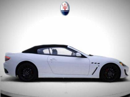 2013 MASERATI GRAN TURISMO SPORT - WHITE ON BLACK 2