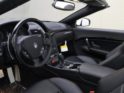 2013 MASERATI GRAN TURISMO SPORT - WHITE ON BLACK 7