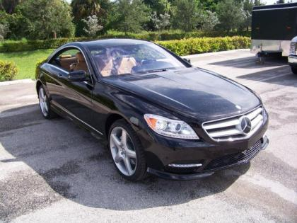 2013 MERCEDES BENZ CL550 4MATIC - BLACK ON BEIGE