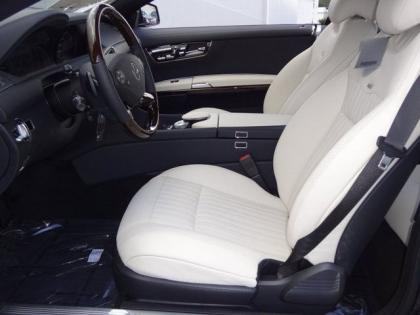 2013 MERCEDES BENZ CL550 4MATIC - BLACK ON WHITE 4