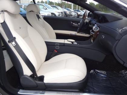 2013 MERCEDES BENZ CL550 4MATIC - BLACK ON WHITE 7